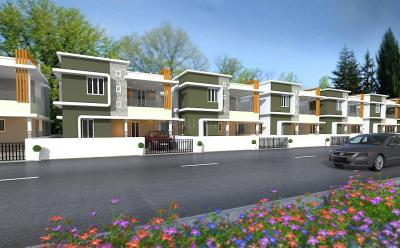 Gallery Cover Image of 2150 Sq.ft 4 BHK Villa for buy in Gandhinagar Colony for 5600000
