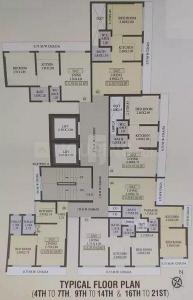 Gallery Cover Image of 480 Sq.ft 1 BHK Apartment for buy in Trident Ozone Fairmont, Bhandup West for 6200000