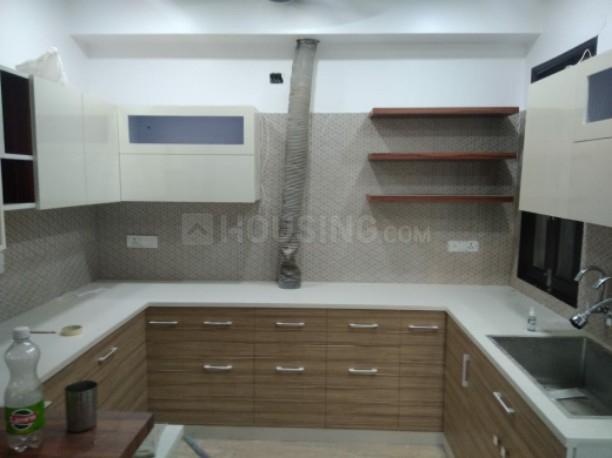 Kitchen Image of 1450 Sq.ft 3 BHK Independent Floor for buy in Mansarover Garden for 15000000