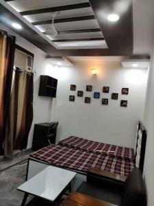 राजिंदर नगर में एजी पीजी के बेडरूम की तस्वीर