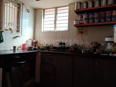 Kitchen Image of 1100 Sq.ft 2 BHK Independent House for rent in Attiguppe for 15500