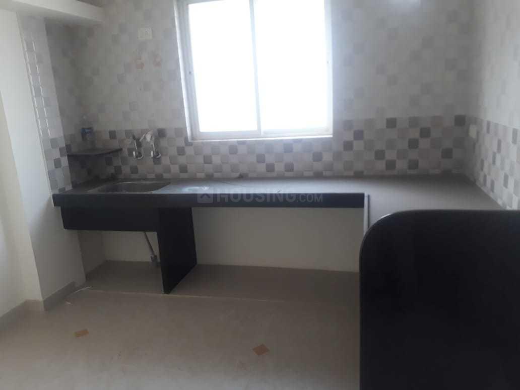 Kitchen Image of 550 Sq.ft 1 BHK Apartment for buy in Vrindavan Nagar for 1900000
