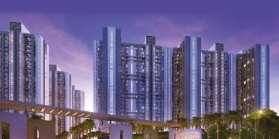 Gallery Cover Image of 715 Sq.ft 2 BHK Apartment for rent in Amara, Thane West for 23000