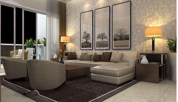 Living Room Image of 2055 Sq.ft 4 BHK Apartment for buy in Vrindavan Yojna for 9650000