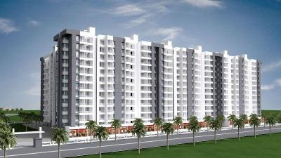 Gallery Cover Image of 1310 Sq.ft 3 BHK Apartment for buy in Mantra Park View Phase 2, Dhayari for 7215000