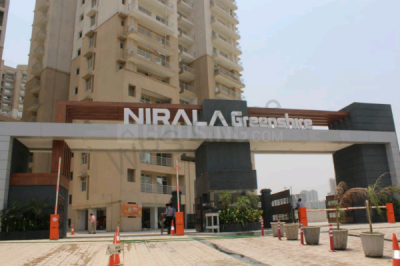 Gallery Cover Image of 1470 Sq.ft 3 BHK Apartment for rent in Nirala Greenshire, Noida Extension for 10000