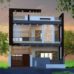 Gallery Cover Image of 1436 Sq.ft 3 BHK Villa for buy in Hennur for 7340000