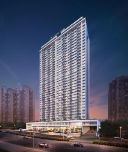 Gallery Cover Image of 783 Sq.ft 2 BHK Apartment for buy in Ashar Edge, Thane West for 11300000