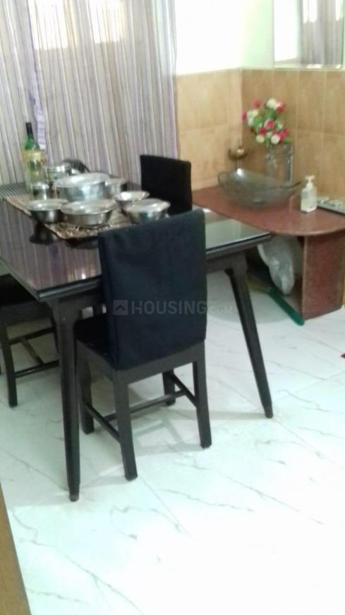 Dining Area Image of 927 Sq.ft 2 BHK Apartment for rent in South Dum Dum for 17000
