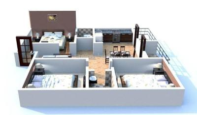 Gallery Cover Image of 1250 Sq.ft 2 BHK Apartment for buy in DS Max DSMAX SHRINE, Kaval Byrasandra for 5625000