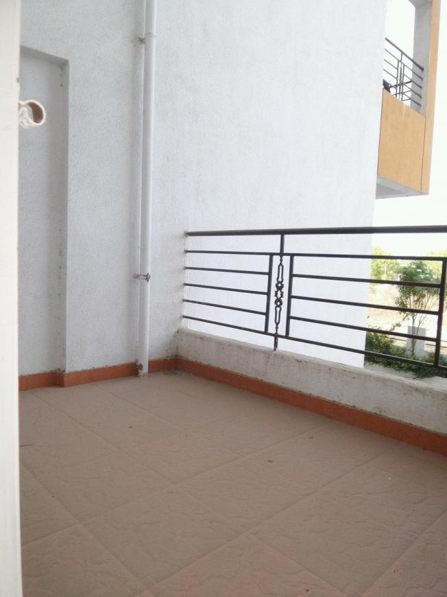 Living Room Image of 1000 Sq.ft 2 BHK Apartment for rent in Wagholi for 10000