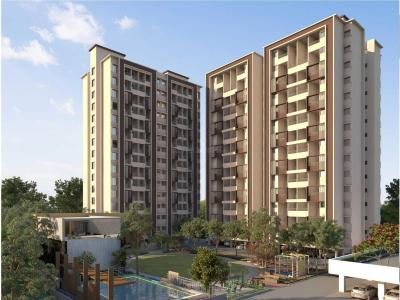 Gallery Cover Image of 521 Sq.ft 1 BHK Apartment for buy in Tathawade for 3399119