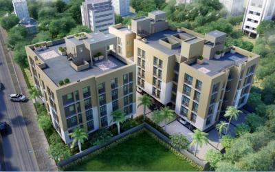 Gallery Cover Image of 968 Sq.ft 2 BHK Apartment for buy in Liberty Flora Garden, Ultadanga for 5300000