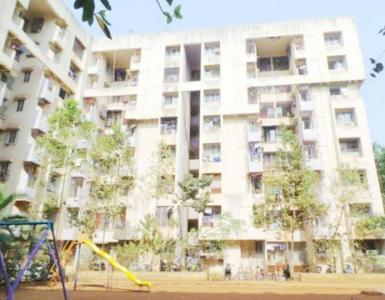 Gallery Cover Image of 752 Sq.ft 1 BHK Apartment for rent in Kasarvadavali, Thane West for 13000