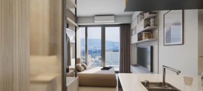 Gallery Cover Image of 1300 Sq.ft 2 BHK Apartment for buy in Hitech City for 5460000