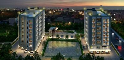 Gallery Cover Image of 690 Sq.ft 2 BHK Apartment for buy in Kalpataru Heights Panache Green City, South Dum Dum for 4411200