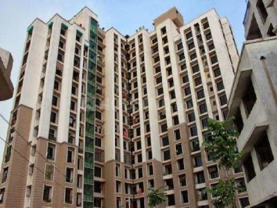 Gallery Cover Image of 672 Sq.ft 1 BHK Apartment for buy in Vastusankalp Punyodaya Park, Kalyan West for 3990000
