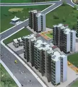 Gallery Cover Image of 620 Sq.ft 1 BHK Apartment for buy in Saj Saj Shrushti, Khidkali for 3000000