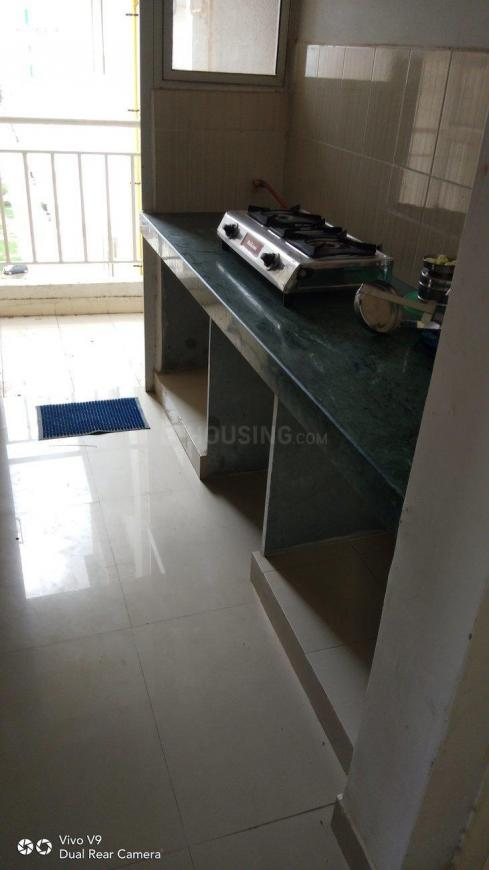 Kitchen Image of 600 Sq.ft 1 BHK Apartment for buy in Chandkheda for 2300000