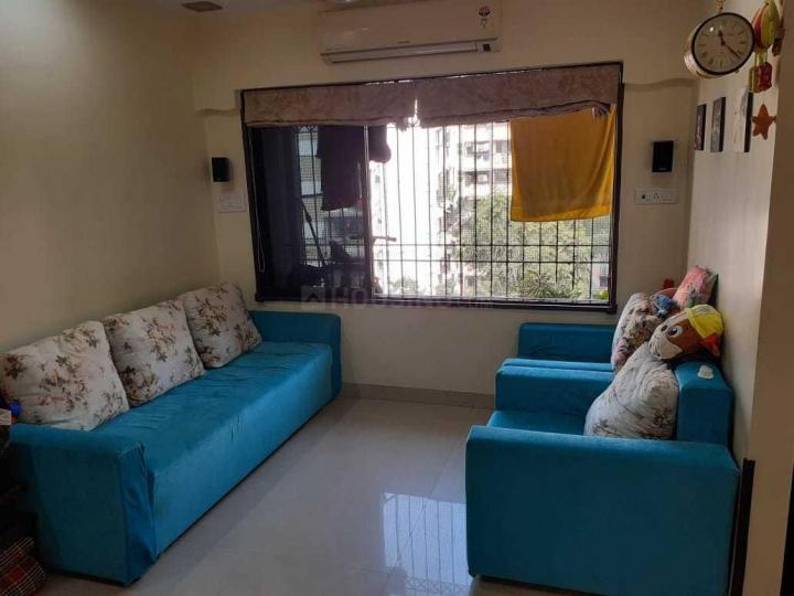 Living Room Image of 610 Sq.ft 1 BHK Apartment for rent in Malad West for 35000