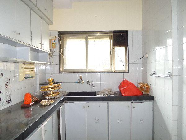 Kitchen Image of 685 Sq.ft 1 BHK Apartment for rent in Sion for 30000