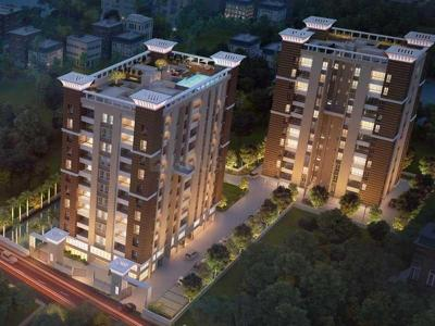Gallery Cover Image of 803 Sq.ft 2 BHK Apartment for buy in Merlin Next, Sarsuna for 3500000