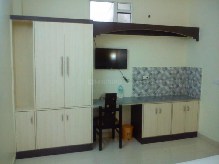 Kitchen Image of Gaurav Residency PG in Sector 30