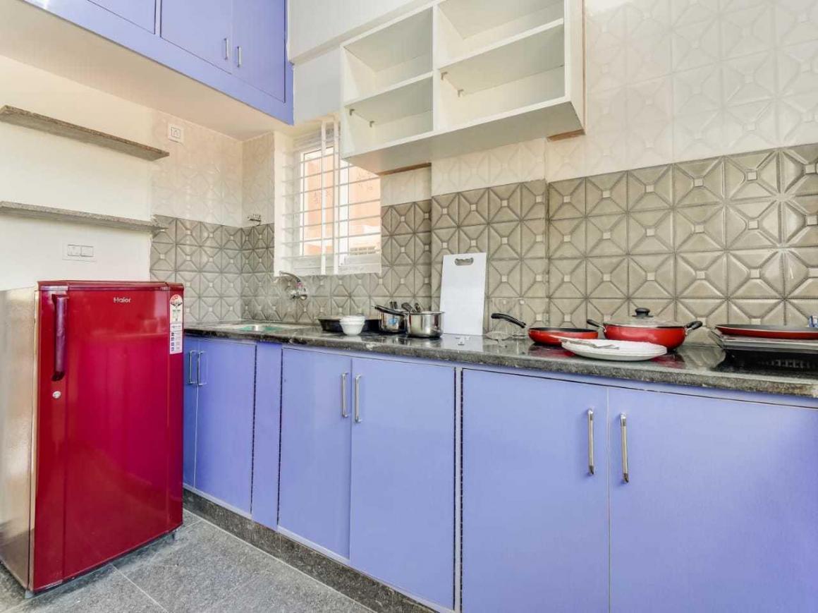 Kitchen Image of Oyo Rooms in Sampigehalli