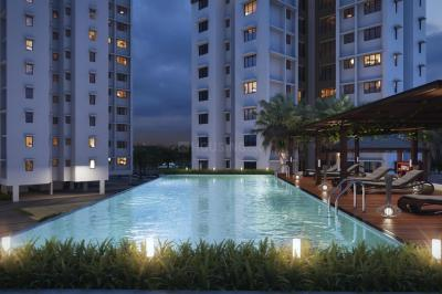 Gallery Cover Image of 680 Sq.ft 1 BHK Apartment for buy in Raunak Unnati Woods Phase 7, Kasarvadavali, Thane West for 5500000
