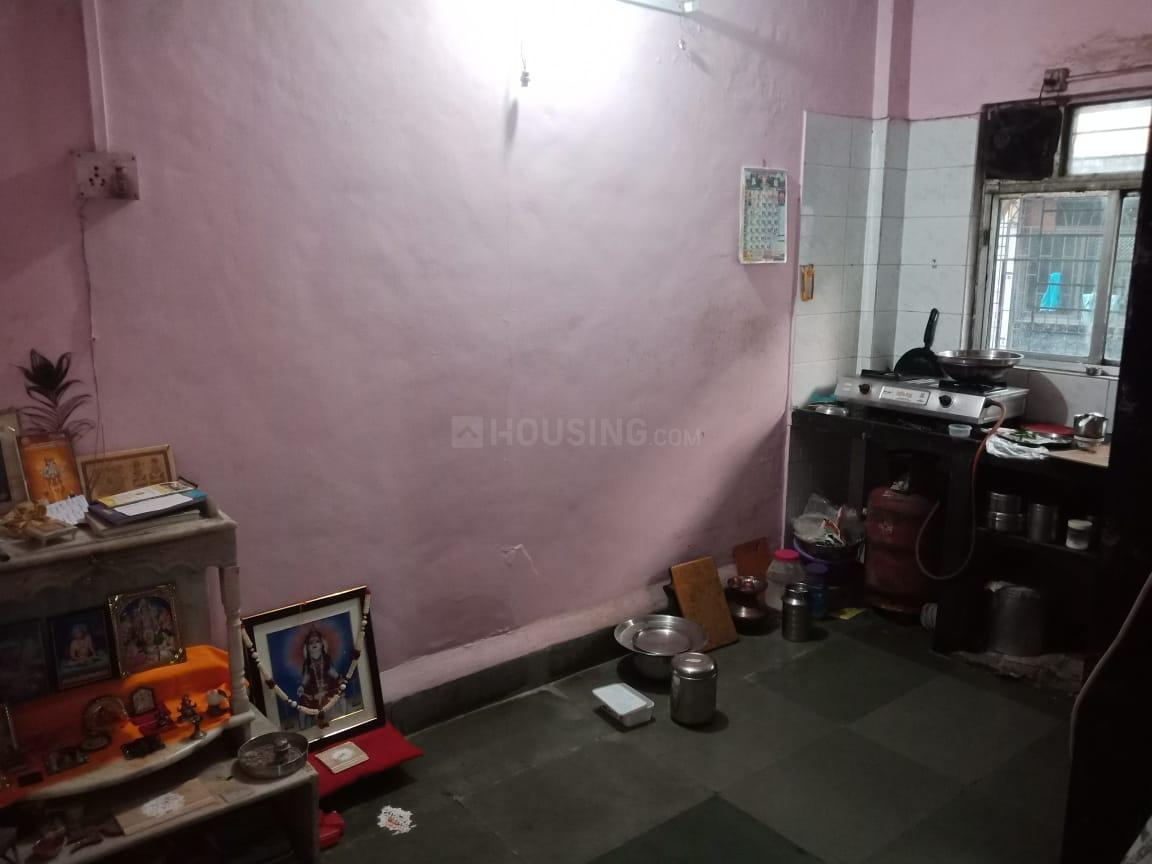 Kitchen Image of 450 Sq.ft 1 BHK Apartment for rent in New Panvel East for 8000