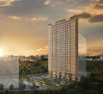 Gallery Cover Image of 965 Sq.ft 2 BHK Apartment for buy in Raunak Centrum, Chembur for 12700000