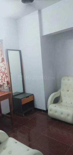 Living Room Image of 680 Sq.ft 1 BHK Apartment for rent in Worli for 45000