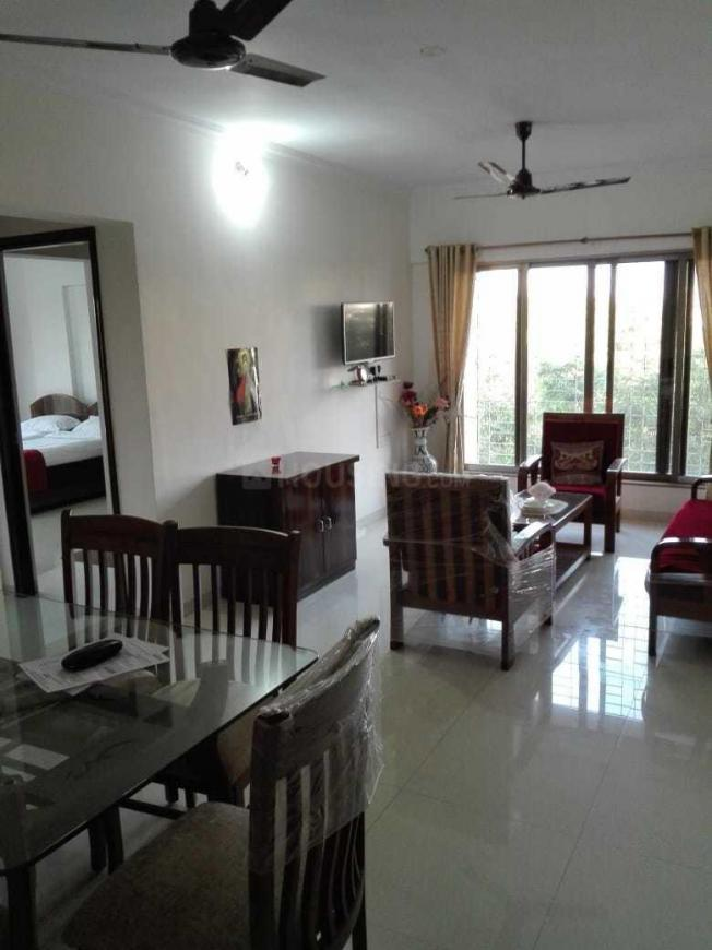Living Room Image of 1200 Sq.ft 2 BHK Apartment for rent in Andheri East for 48000