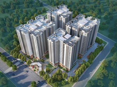 Gallery Cover Image of 1260 Sq.ft 2 BHK Apartment for buy in Vidhya Nagar for 5400000
