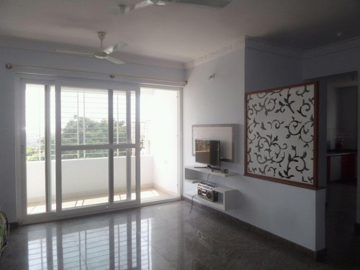 Living Room Image of 1550 Sq.ft 2.5 BHK Apartment for rent in Vijayanagar for 28000