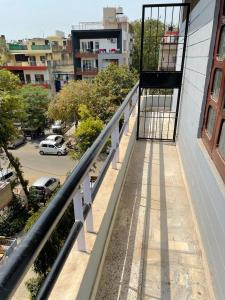 Balcony Image of Co Living Girls Accommodation In Amar Colony in Lajpat Nagar