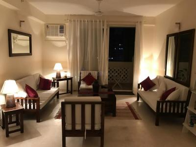Gallery Cover Image of 2000 Sq.ft 3 BHK Apartment for rent in DLF New Town Heights, New Town for 65000