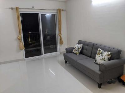 Gallery Cover Image of 735 Sq.ft 2 BHK Apartment for rent in DivyaSree Republic Of Whitefield, Brookefield for 27000