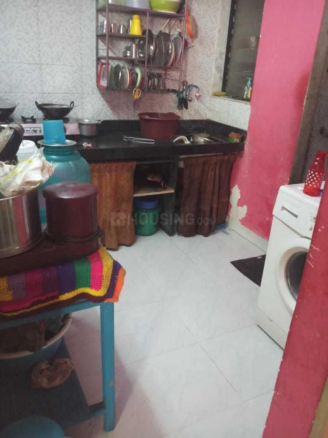 Kitchen Image of 269 Sq.ft 1 BHK Independent House for buy in Malad West for 3000000