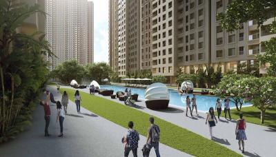 Gallery Cover Image of 1008 Sq.ft 2 BHK Apartment for buy in Rustomjee Urbania, Thane West for 11900000
