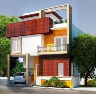 Gallery Cover Image of 1685 Sq.ft 3 BHK Independent House for buy in Poojaa Diamond Villas, Gerugambakkam for 9148000