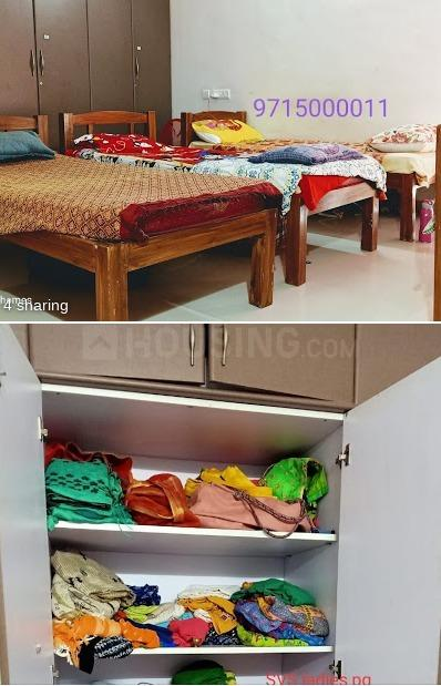 Bedroom Image of Svs Ladies PG in Vasundhara Enclave