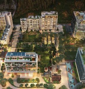 Gallery Cover Image of 850 Sq.ft 2 BHK Apartment for buy in Godrej The Trees, Vikhroli East for 22000000