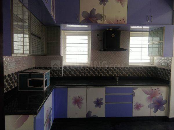 Kitchen Image of 1800 Sq.ft 3 BHK Apartment for rent in Subramanyapura for 24000