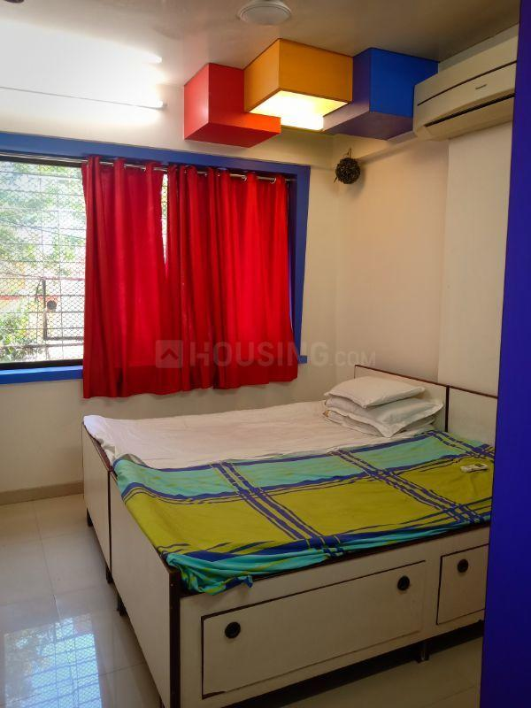 Bedroom Image of 500 Sq.ft 1 BHK Apartment for rent in Vakas for 32000
