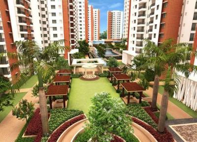 Gallery Cover Image of 1260 Sq.ft 2 BHK Apartment for buy in Puppalaguda for 4410000