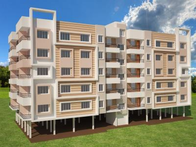 Gallery Cover Image of 845 Sq.ft 2 BHK Apartment for buy in Benachity for 1690000