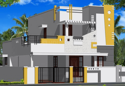 Gallery Cover Image of 1000 Sq.ft 2 BHK Independent House for buy in Gerugambakkam for 4200000