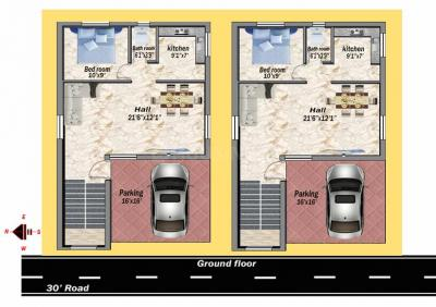 Gallery Cover Image of 1600 Sq.ft 3 BHK Independent House for buy in Anakaputhur for 8500000