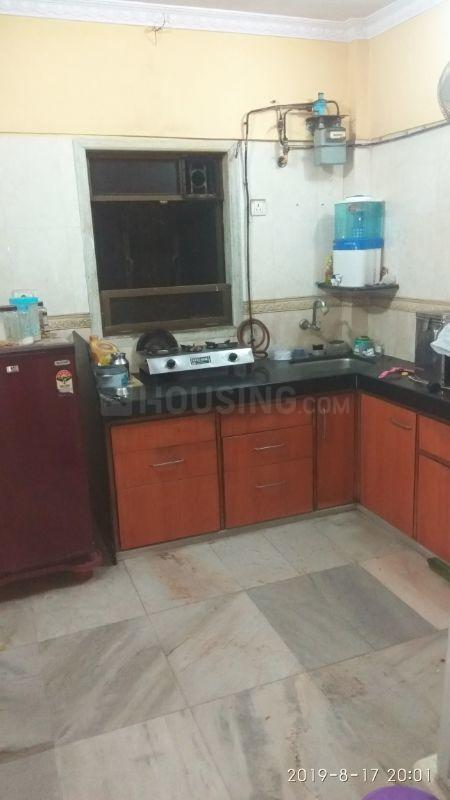 Kitchen Image of 500 Sq.ft 1 RK Apartment for rent in Kanjurmarg East for 17000